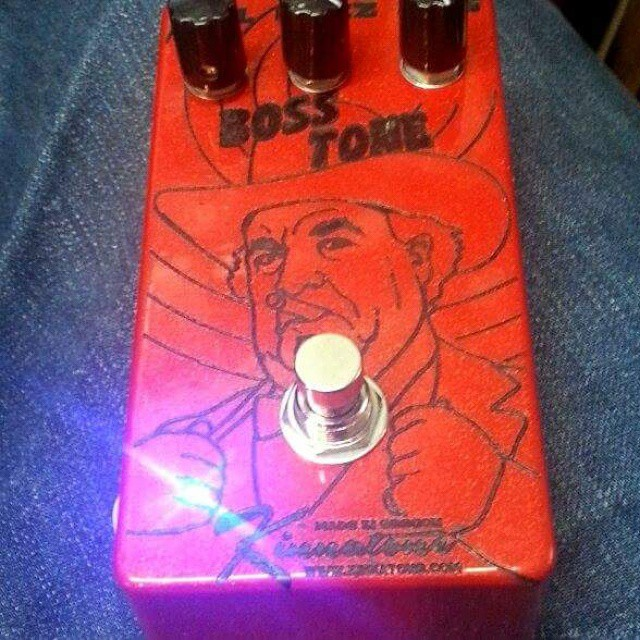 Boss HOG Laser Etched pedal