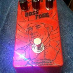 Boss HOG Laser Etched pedal