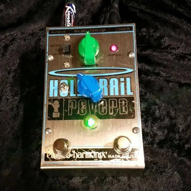 New mod night #NMN Kinnatone Dually on the Orginal big box Holy Grail.  We add a Boss Style power Jack, a second channel with its own selectable Spring,Hall or Flerb switch. available at Kinnatone.com #newmods #holygrailreverb #holygrailmods #ehxnyc
