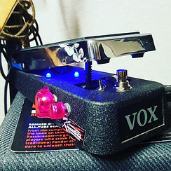 Wah modifications Vox and Crybaby