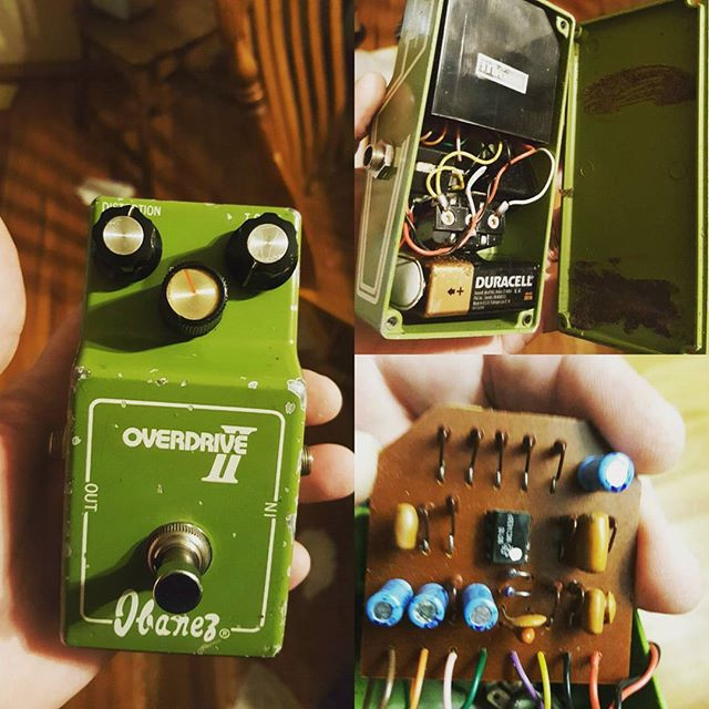 On the bench 70s ibanez overdrive 2. Pre