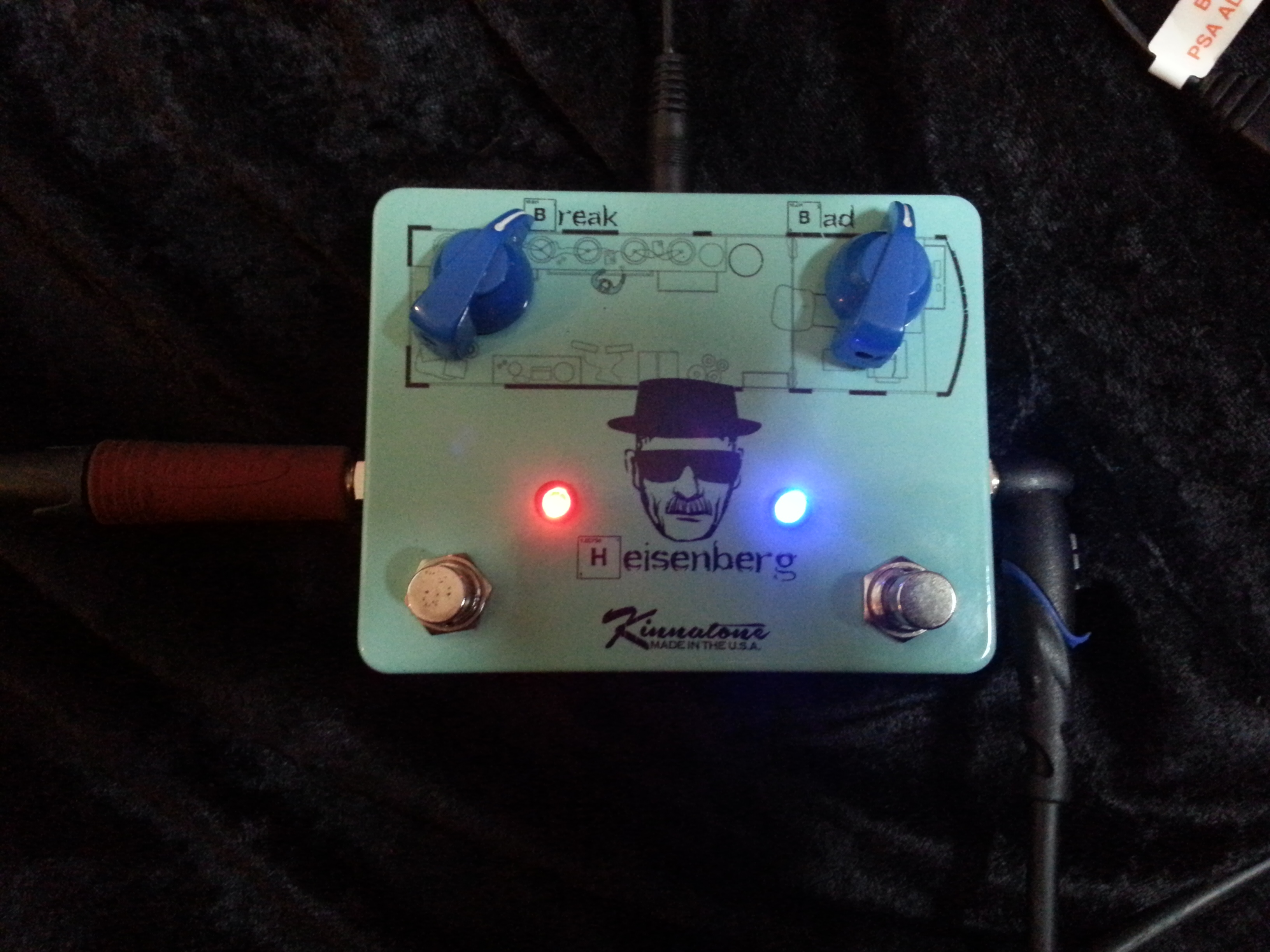 Kinnatone Heisenberg Fuzz and Phase