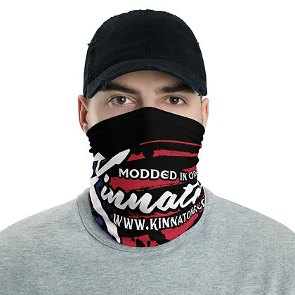 Kinnatone Neck Gaiter face cover, headband, bandana,  neck Warmer