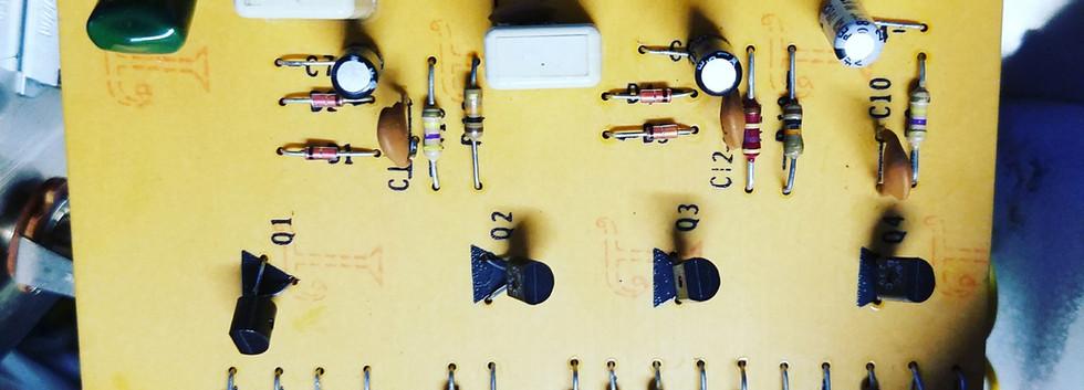 1977 Big Muff V3 PCB board