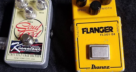 Ibanez Flanger FL301 that needed a litte love