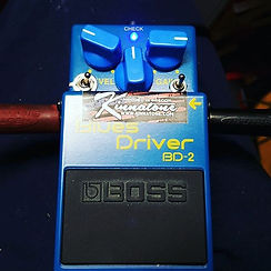 Boss BD-2 Blues driver mods