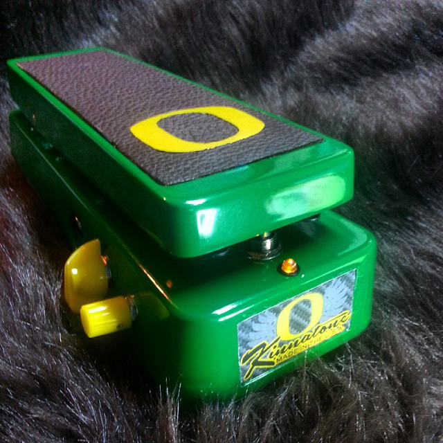 Oregon Duck Quack Attack Wah from the Kinnatone Custom Shop
