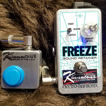 EHX FREEZE PEDAL mod REMOTE Switch & ARCADE OPTION