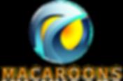Macaroons Company Logo Orange v2 PNG (Tr