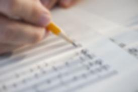 Folha de música Edições
