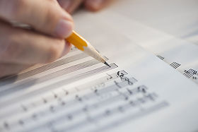 lege partituur