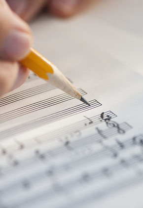 Las ediciones de hoja de música