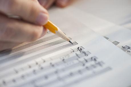 Sheet Music Edits