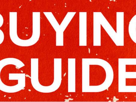 Joe's buying guide.