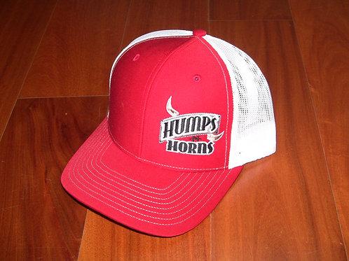 HNH mesh back cap - red/white