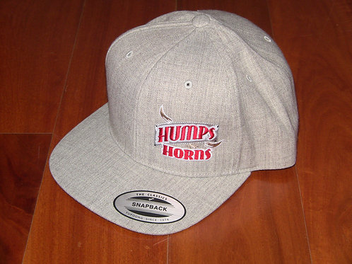 HNH Wool-blend Cap adjustable-heather gray
