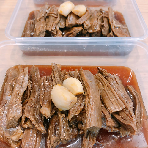 Soy Beef Strips 소고기장조림