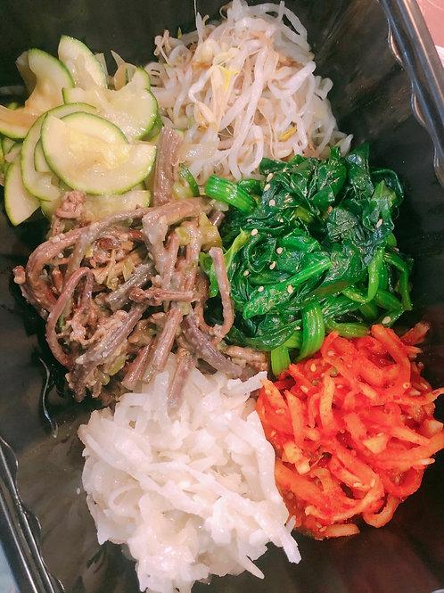 Bibimbap Namul 비빔밥나물