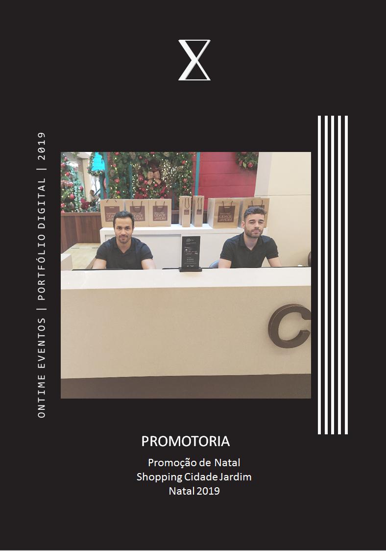 Promotoria promo natal cidade 2019