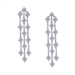 Pave Chandelier Earrings