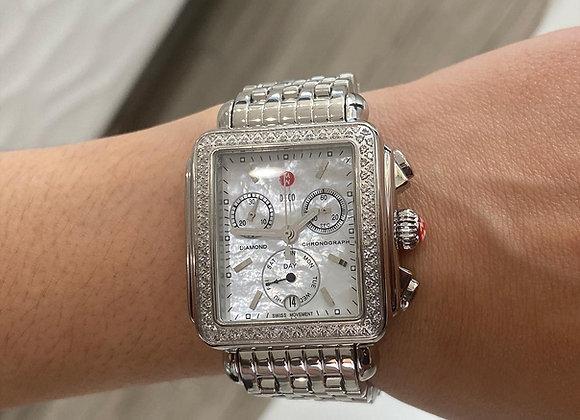 Michelle Deco Diamond Chronograph