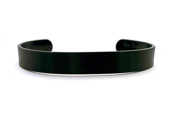 Unwritten BLM- Black Stainless Steel Cuff