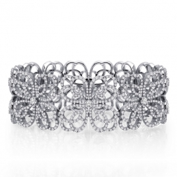 Art Deco Pave Bracelet