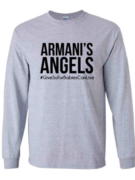 Armani's Angels Long Sleeve Tee