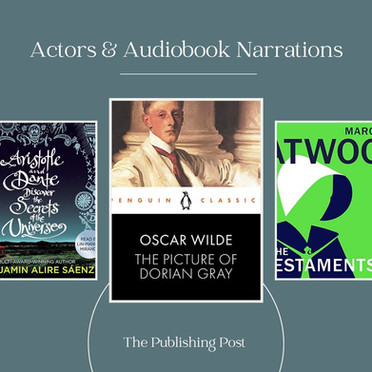 A Look into Actors and Their Audiobook Narrations