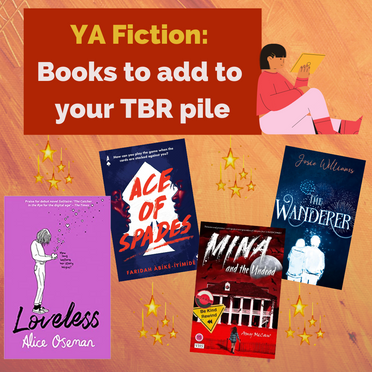 YA Fiction: Books For Your To Be Read Pile