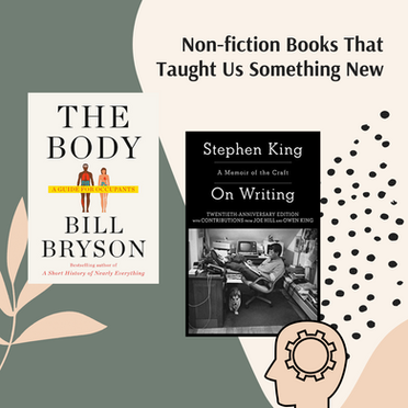 Non-Fiction Books That Taught Us Something New
