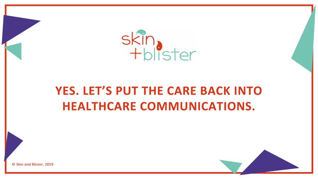 Producing remarkable healthcare communications is so important. Here's a short video to explain why.