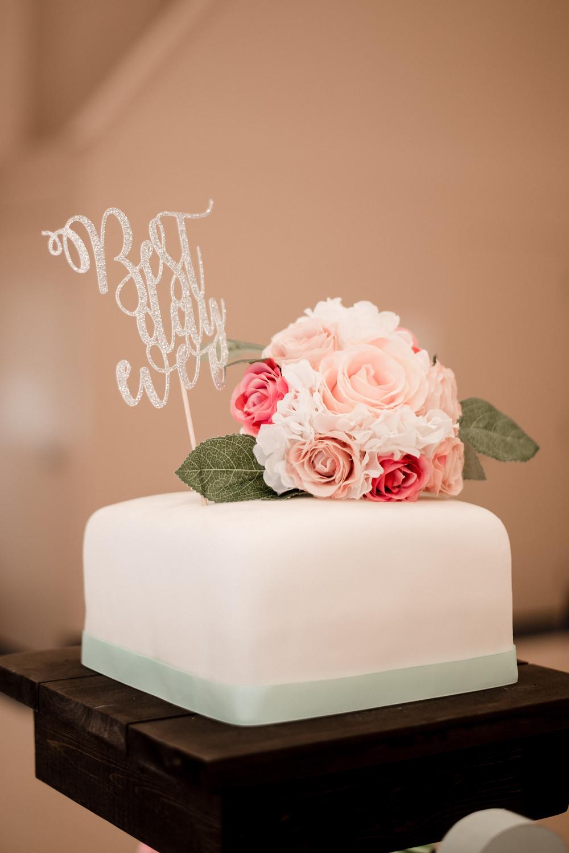 wedding cake, reception
