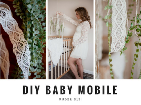 DIY Gender-Neutral Baby Mobile