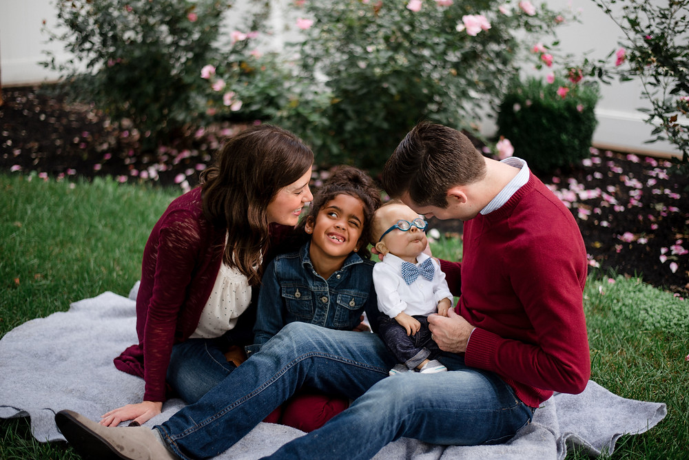 fall family portraits in central PA