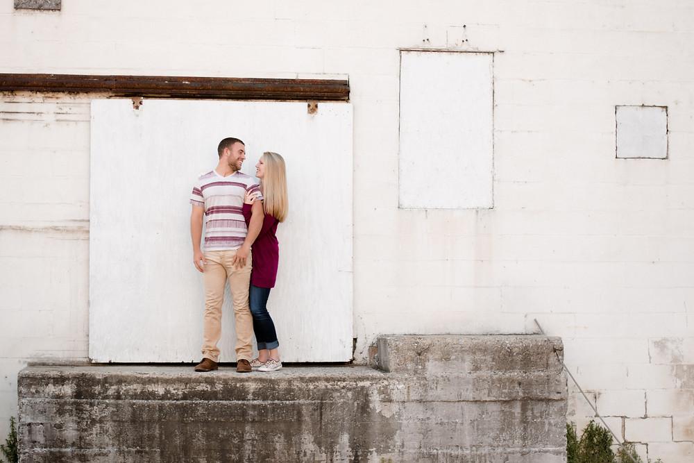 Engagement session, rustic, fun, wedding photographer