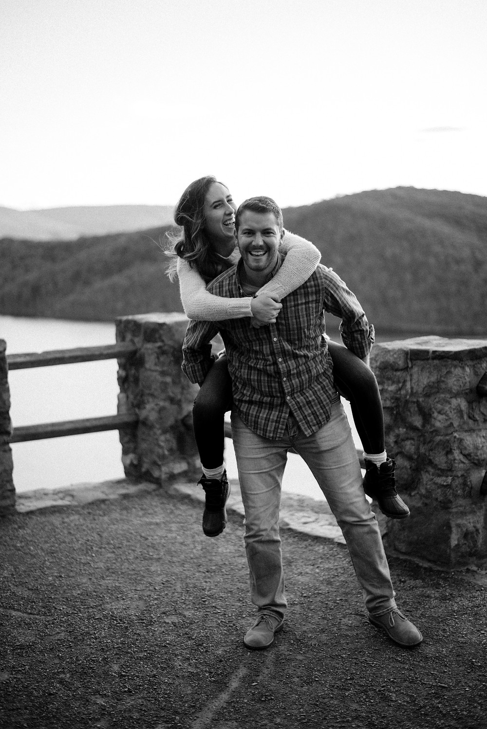 fall engagement session in central pennsylvania