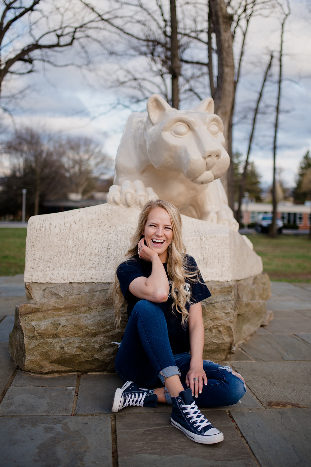 Penn State University senior session