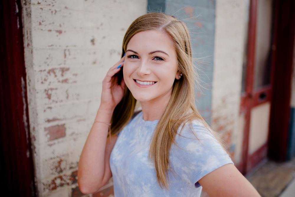 high school senior portrait photography huntingdon pennsylvania