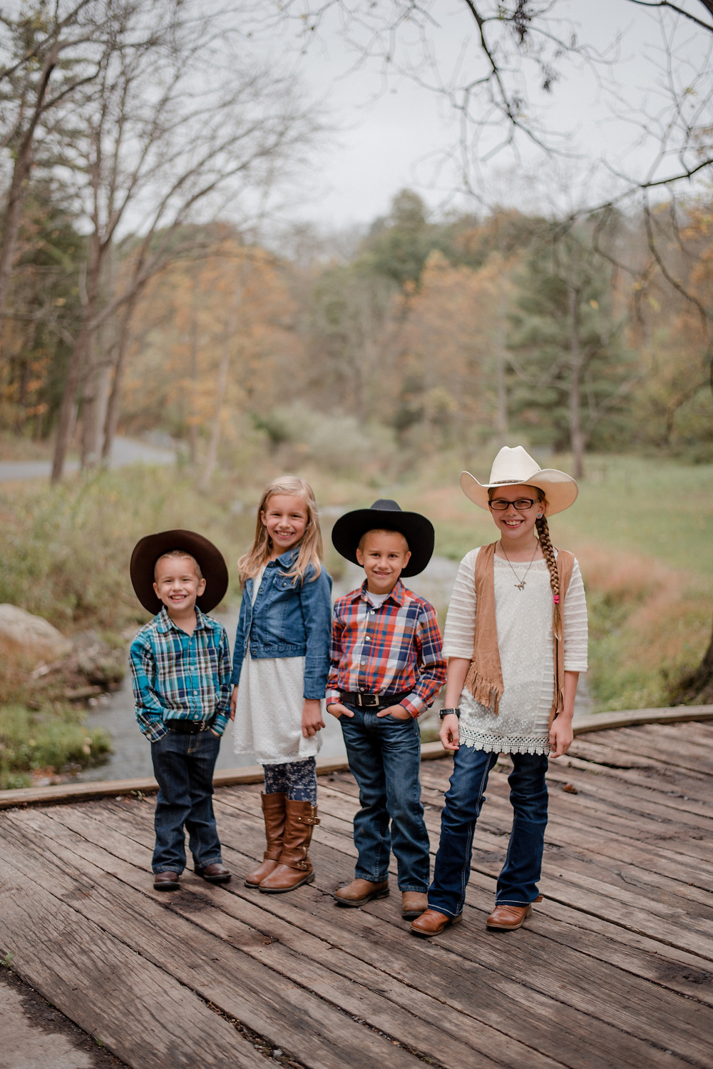 central PA river family session