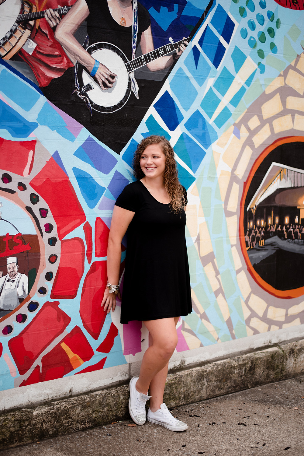 central pa, colorful, senior session