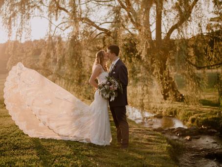 Beautiful Summer Wedding at Gillbrook Farms