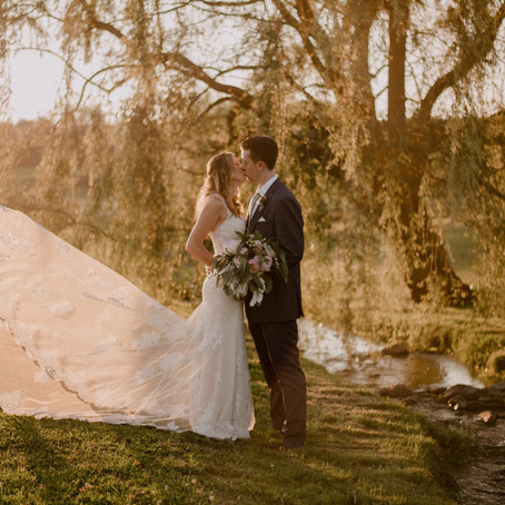 Beautiful Summer Wedding at Gillbrook Farms
