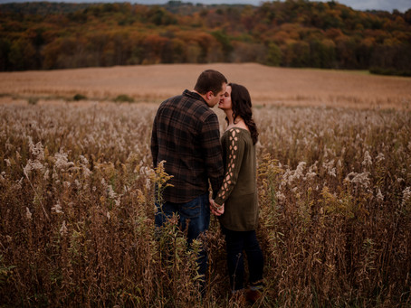 Cody and Chelsee | Raystown Lake Area Fall Engagement Session | PA