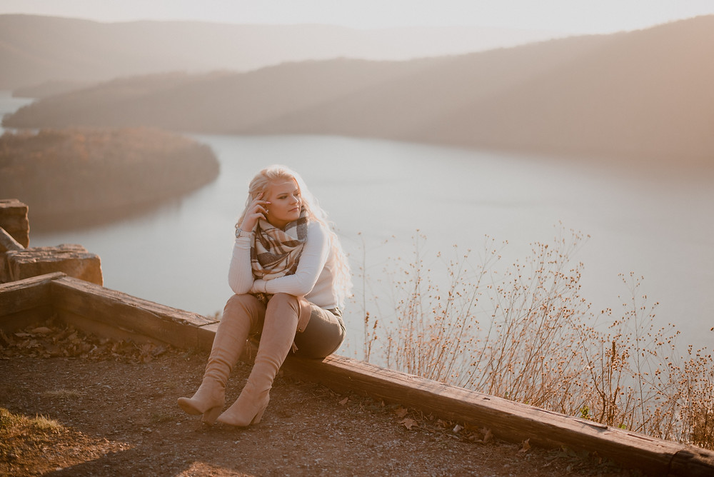 Raystown Lake PA senior session