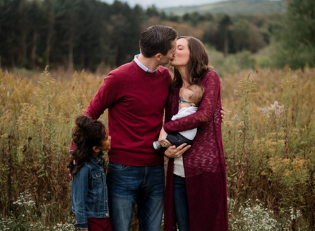 The Martins | Fall Family Session in Central PA