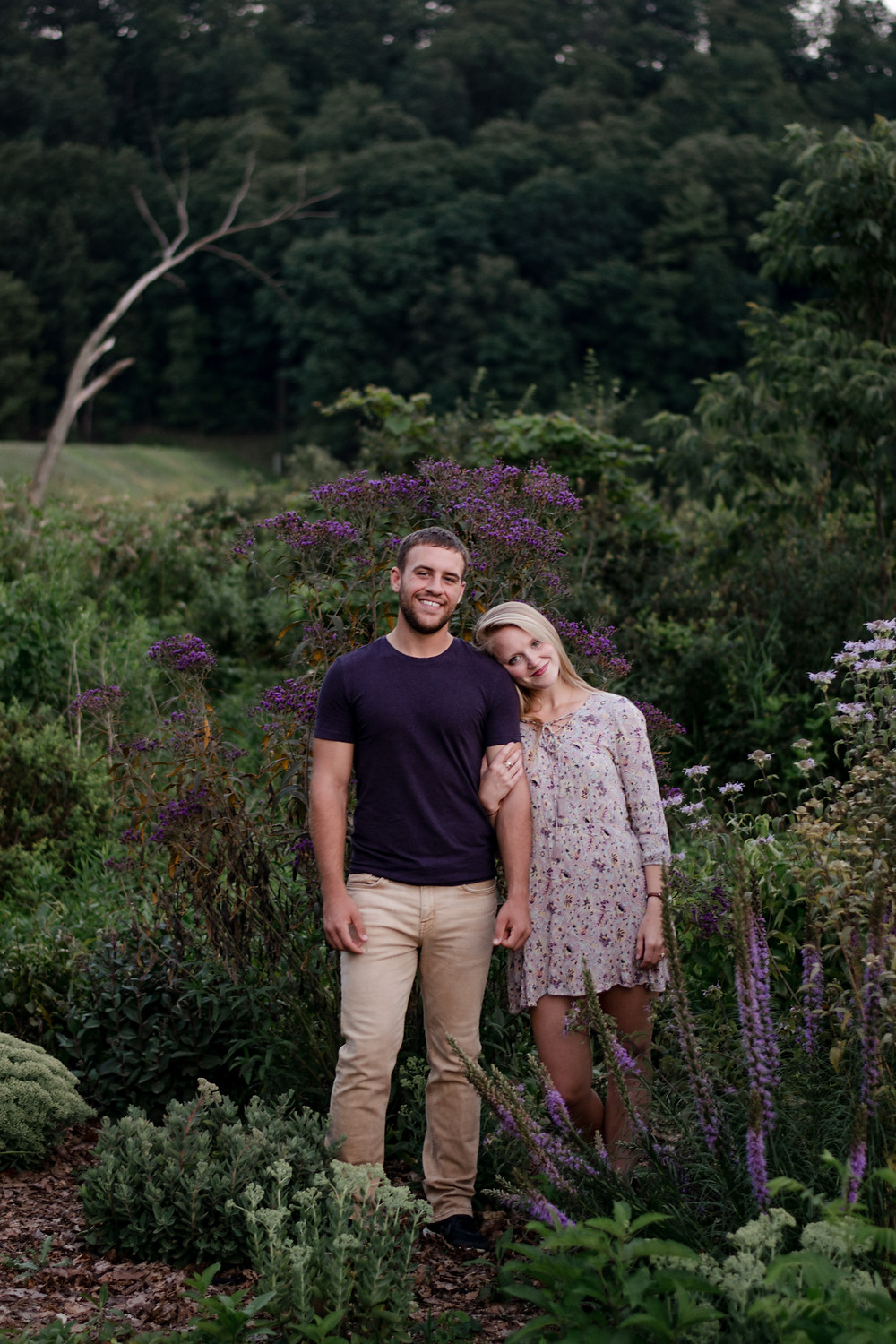 Engagement session, rustic, fun, wedding photographer, flowers
