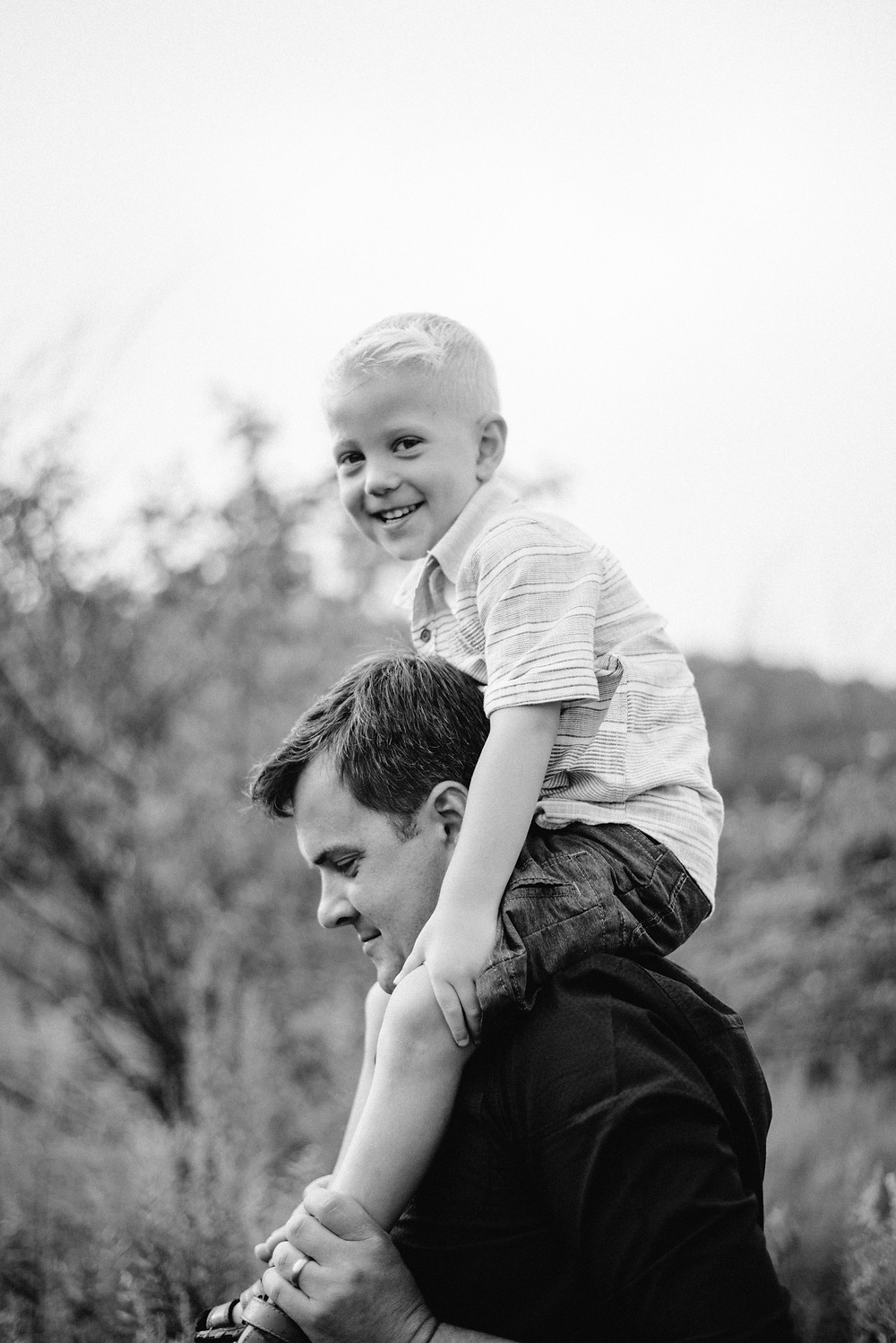 father and son, family candid, Pennsylvania family photographer