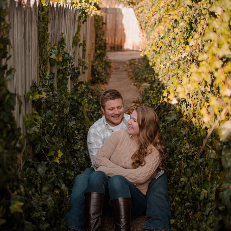 Hot Chocolate Engagement Session | Central PA