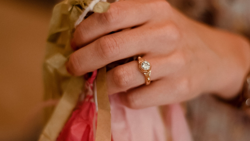 engagement ring, Williamsport PA wedding photographer